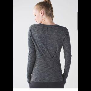 Lululemon & Go Everywhere Dark Gray Long Sleeve 10